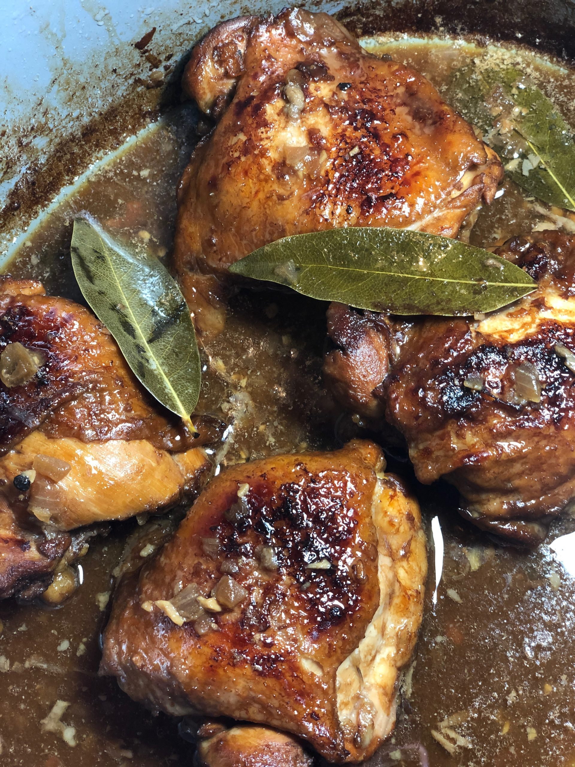 Filipino Chicken Adobo